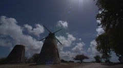 Windmill Timelapse Stock Footage