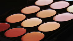 Cosmetic concealer Stock Footage