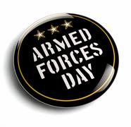 American Armed Forces Day Stock Illustration