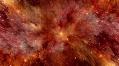 Space Nebulae Background - stock footage