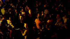 Barcelona Night Disco Party Crowded Sala Apolo Arkistovideo