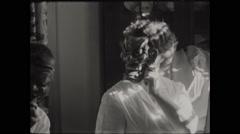 Japanese Kabuki Masks Fun 1954 Stock Footage