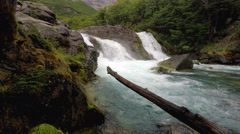 Waterfall Falls Cascade 4k UHD Stock Footage