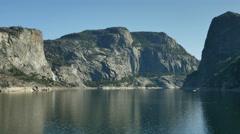 4K Yosemite Hetch Hetchy 05 Wapama Falls Stock Footage