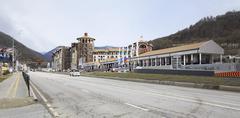 Gorky Gorod Resort in Esto Sadok - stock photo