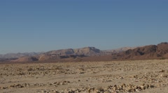 Timna valley pan 4K Stock Footage