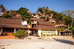 Phi Phi resort - stock photo