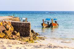 Peaceful andaman sea Stock Photos