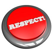 Respect button Stock Illustration