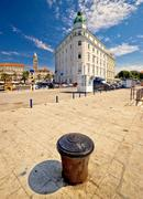 City of Split waterfront ancient architecture Stock Photos