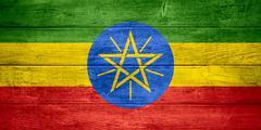 flag of Ethiopia - stock illustration