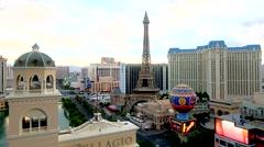 The strip, Las Vegas Stock Footage