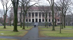 Harvard Library Stock Footage