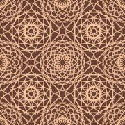 Vintage lace seamless pattern Stock Illustration