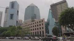Wheelock place on orchard road Stock Footage