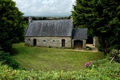 Fairy tale Cottage Stock Photos