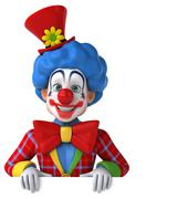 Fun clown Stock Illustration