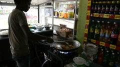 Cook, Maskeliya, Sri Lanka Stock Footage