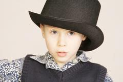 Young boy - stock photo