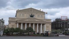 RUSSIA. MOSCOW. MAY 2011: Big Theater (Bolshoi Theater) Stock Footage