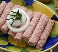 fleisch - stock photo