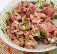 putenfleisch - stock photo