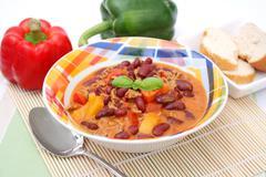 chili - stock photo