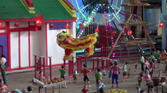 Chinese New Year Model - 1 Stock Footage