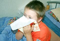 grippe - stock photo