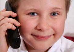 telefonieren - stock photo
