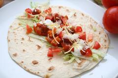 tortilla - stock photo