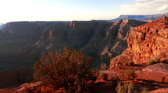 Grand Canyon in the afternoon Stock Footage