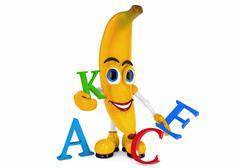 Banana - stock illustration