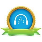 Headphones icon Stock Illustration