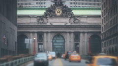 Grand Central NY TimeLapse Stock Footage