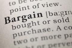 Bargain - stock photo