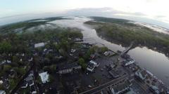New England aerials Stock Footage