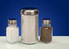 Condiment Containers - stock photo