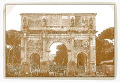 Arch of Constantine, Rome Stock Illustration