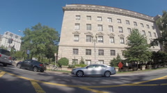 Driving through Washington D.C Stock Footage