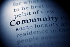 Stock Photo of Community