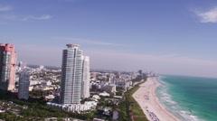 Miami Aerial 5 Custom - stock footage