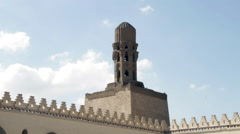 Al-Azhar Mosque minaret Stock Footage