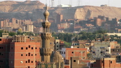 Minaret of Qaytbay, Al-Azhar Mosque Stock Footage