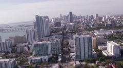 Miami Aerial 1 Custom Stock Footage
