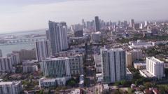 Miami Aerial 1 Custom - stock footage