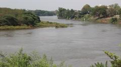 Nan River Uttaradit Stock Footage