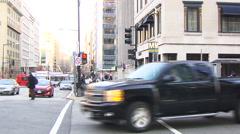 Washington D.C. street scene Arkistovideo