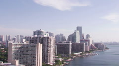 Miami Aerial 4 Custom - stock footage