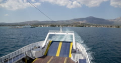 Greece ocean scenics - stock footage